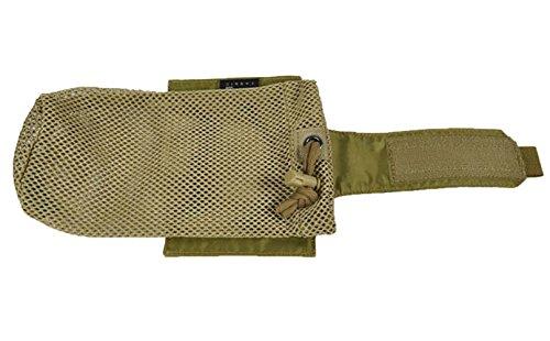 ueasy faltbar Wasser Flasche Tasche Tactical MOLLE Flaschen Tasche Kordelzug 1000D Tactical Hydration Carrier - CP Camouflage