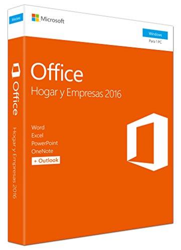 Microsoft - Office Hogar y Empresas 2016...