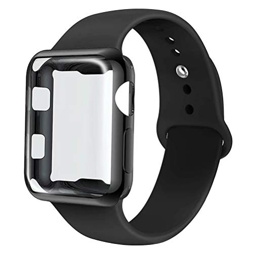 INZAKI Correa con Funda para Apple Watch 44mm