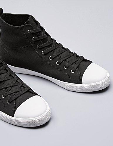 FIND Herren Hohe Sneaker Schwarz (Black)