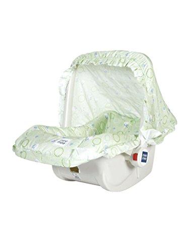 Mee Mee 5 in 1 Baby Cozy Carry Cot Cum Rocker (Green)