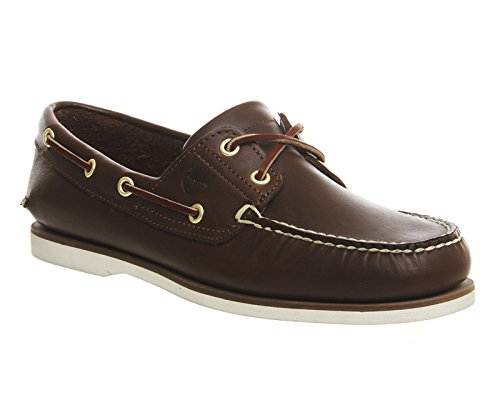 Timberland, Sneaker uomo xxx Marrone (Dark Brown Leather)