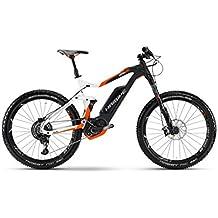 Haibike Xduro allmtn 8.0500WH para bicicletas eléctricas/27.5r All Mountain Ebike 2017, Weiß/Schwarz/Orange