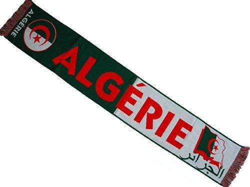 Algeria–Sciarpa collezione tifoso–Algeria–dimensioni 138cm