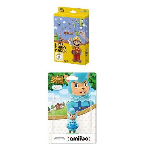 Super Mario Maker - Artbook Edition - [Wii U] + amiibo Animal Crossing Björn