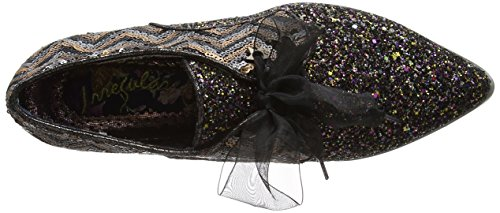 Irregular Choice Mighty Fine, Brogues Femme Noir (noir)