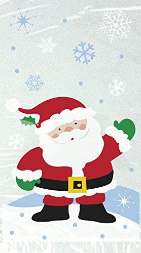 Sacchetti natalizi in cellophane per feste.