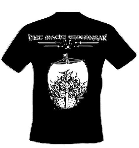 Preisvergleich Produktbild Met macht unbesiegbar (T-Shirt) Größe M / Honigwein