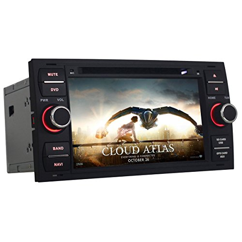morjava mj-8818 Doppel DIN 20,3 cm Android Autoradio für Ford Serie-INDASH Video 2 DIN Android...