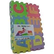Puzzle goma EVA de 36 piezas | Alfombra infantil puzzle de letras | Alfombra puzle (