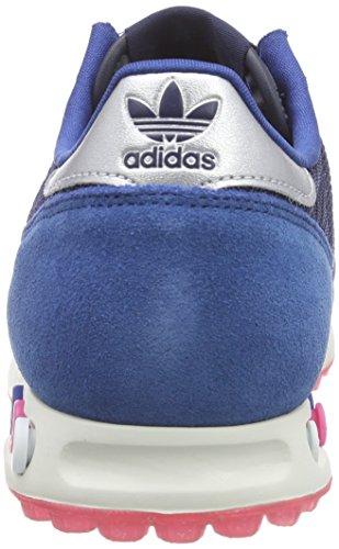 Blu Argento Donna Scuro Bassi Allenatore Della Scarpe Collegiale blu Adidas Marina Opaco pR1FqcI