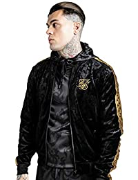 SIKSIL Cazadora Siksilk X Dani Alves Black Velour Bomber Jacket