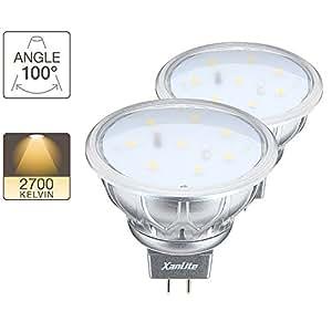 Pack de 2 ampoules GU5.3 LED XXX Evolution