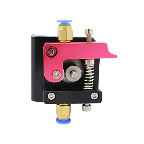 Imprimante 3D – Extrudeuse Filament 1.75mm Alimentateur de fil pour Nema 17 – Aluminium Métal-Pour MK8 Makerbot Reprap (Main Droite)