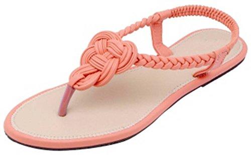 Earnam Women's's Attractive New Desigen Fashion Women Girl's Party Office Ethnic Chappal Sandals Flats