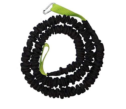 BodyCROSS Bungee Tube 12 kg Zugkraft | Länge 1,20-4,50 Meter | Expander Seil für Rip Trainer oder Row Sticks | Klimmzugunterstützung | Widerstandstraining | Studioqualität | Made in Germany