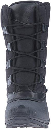 Kamik - Mcgrath, Stivali a metà gamba con imbottitura pesante Donna Nero (Schwarz (BLK-BLACK))
