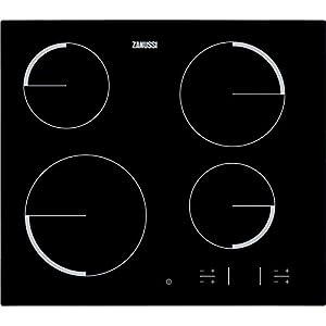 Zanussi ZEV 6340 FBA – Placa Vitrocerámica Zev6340Fba Con 4 Zonas Hi-Light