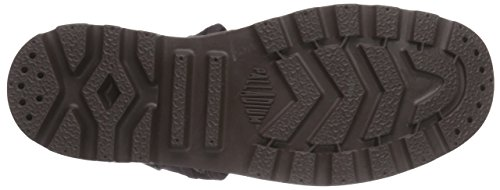 Palladium  Pallabrouse Baggy, Bottes Desert de hauteur moyenne, doublure froide homme Noir - Schwarz (After Dark/Chocolate)