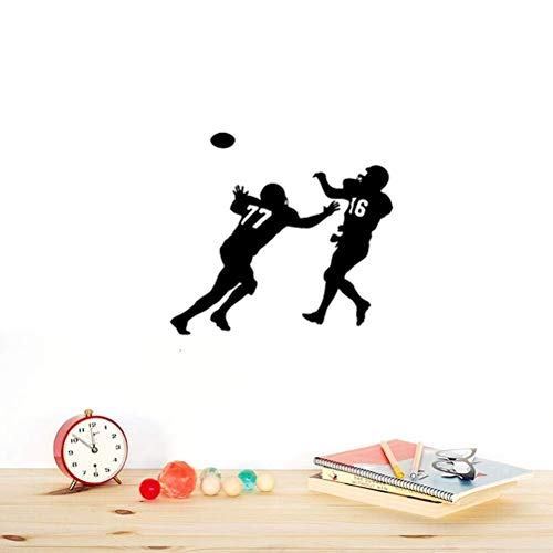 mer Wandtattoo Schlafzimmer Fußballspieler Sport Wide Receiver Super Bowl ()