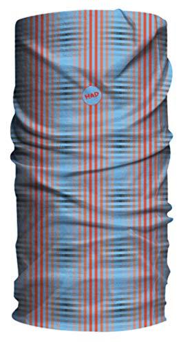 HAD Multifunktionstuch Kariert,rot-blau, Polyester, one size