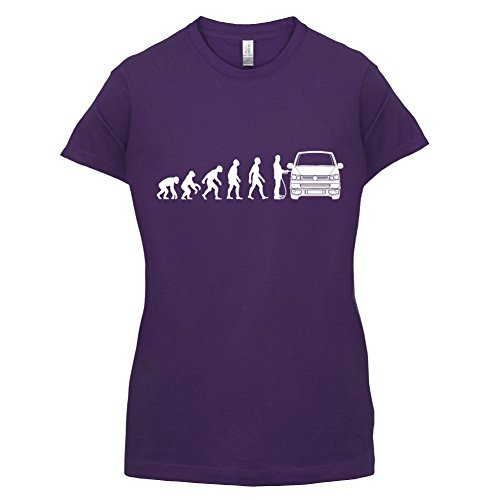 Evolution of Man VW T5 - Damen T-Shirt - 14 Farben Lila