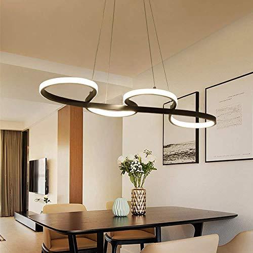 Lámpara de techo,Acogedor Restaurante Candelabro Simple Creativa ...