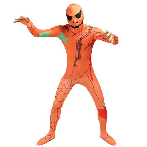 FYBR Halloween-Kostüm – Erwachsene Unisex Herren & Frauen zweite Haut & Zentai Einteiler Kleidung Outfit Lycra billig, extra-Large
