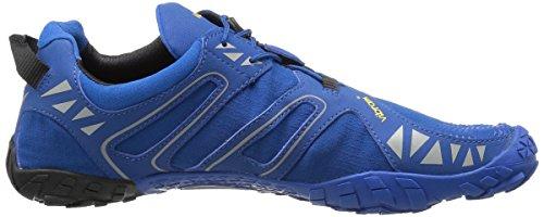 Vibram Five Fingers V, Chaussures de Trail Homme Bleu (Blue/black)