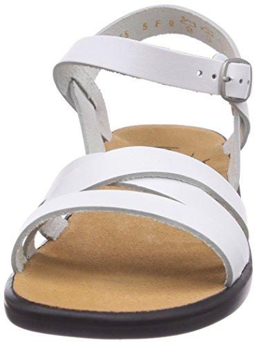 Ganter Sonnica, Weite E 1-202811-0100 Damen Sandalen/Fashion-Sandalen Weiß (weiss 0200)