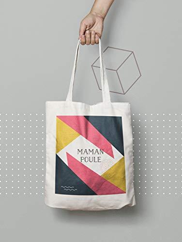 Tote Bag Mama Hen Baumwolle Tasche Strandtasche Tote Bag Computertasche Einkaufstasche Einkaufstasche Kurse Einkaufstasche