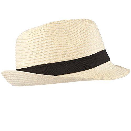 Lux accessori da donna estate sole cappello fedora paglia