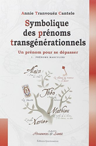 Symbolique des prénoms transgénérationnels PDF