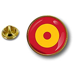 Akacha pins pin's Flag National Badge Metal Lapel hat Button air Force Roundel Spain