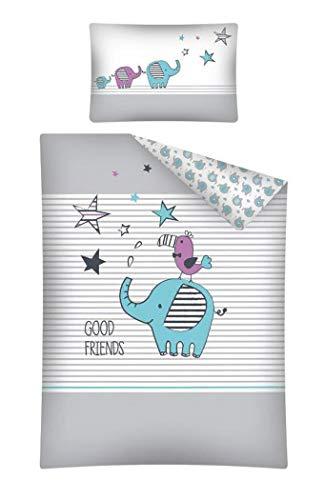 Baby Juego de ropa de cama 2piezas. 100% algodón Tamaño: 100x 135cm,...