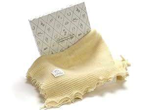 Lemon Wool Shawl for Baby