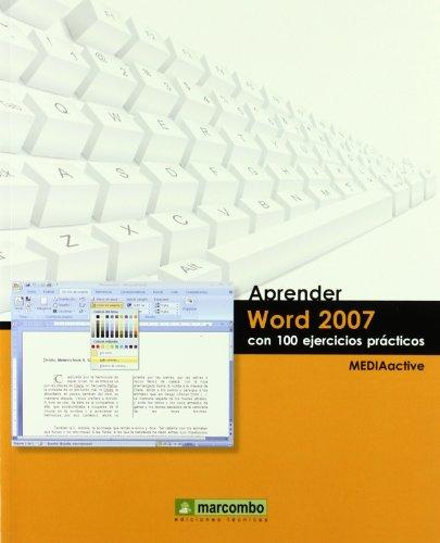 Aprender Word 2007 Con 100 Ejercicios Prácticos