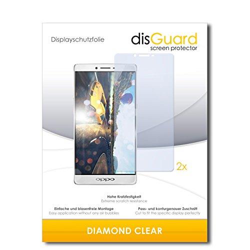 2 x disGuard® Bildschirmschutzfolie Oppo R7 Plus Schutzfolie Folie