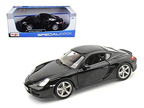 [] Porsche Cayman S (Silver) 1/18 model car (minicar) (japan