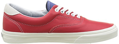 Vans Unisex-Erwachsene Era 59 Low-Top Rot ((Vintage Sport) Racing Red/Bijou Blue)