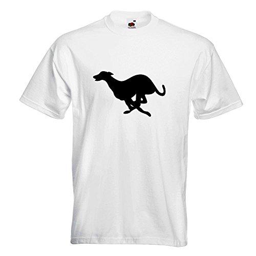 KIWISTAR - Windhund T-Shirt in 15 verschiedenen Farben - Herren Funshirt  bedruckt Design Sprüche