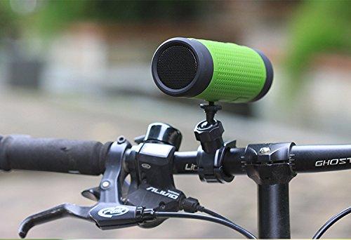 FUSON Outdoor tragbare Wireless Lautsprecher, JBL Bluetooth Lautsprecher, Bluetooth Fahrrad Lautsprecher 4.0NFC, eingebautem Mikrofon–Grün