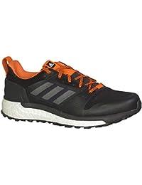 957d92c02 adidas Men s Supernova Trail Running Shoes Carbon Core Black Orange 12 D(M