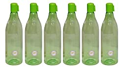 HARSHPET 29 MM DIAMOND GREEN WATER BOTTLE (SET OF SIX)