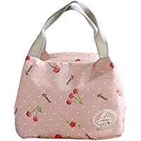 Preisvergleich für kanggest Lunch Bag Mode Handtasche Mittagessen Tasche Wasserdichte Kühltasche Isoliert Lunch-Taschen Reise Picknicktasche für Erwachsene, Kinder, Mädchen, Frauen