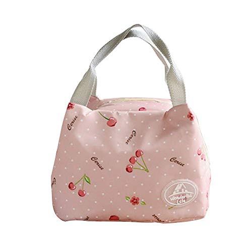 kanggest Lunch Bag Mode Handtasche Mittagessen Tasche Wasserdichte Kühltasche Isoliert Lunch-Taschen Reise Picknicktasche für Erwachsene, Kinder, Mädchen, Frauen