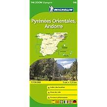 Carte ZOOM Pyrnes Orientales, Andorre