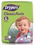 #9: Drypers ClassicPantz Large Size Diapers 48 Counts