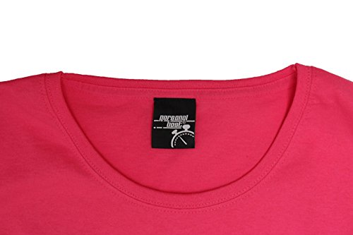 Personal Best Premium - T-shirt - Slogan - Manches Courtes - Femme Rose