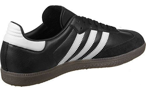 adidas Samba, Sneakers Basses Mixte Adulte Noir (Core Black/footwear White/Gum)